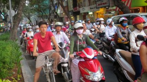 Saigon traffic
